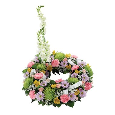 Cremation/Memorial Floral Wreath (BF193-11KL)